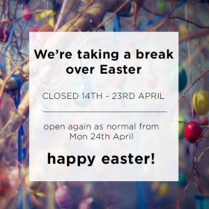 easter break graphic