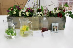 picture framing workshop beautified by common farm flowers