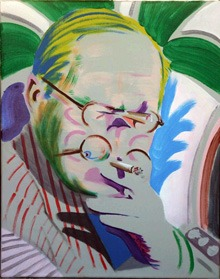 Hockney-takes-a-breather